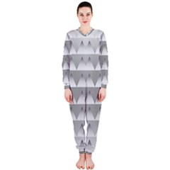 Pattern Retro Background Texture Onepiece Jumpsuit (ladies)