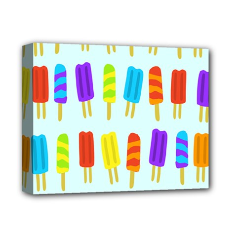 Food Pattern Deluxe Canvas 14  x 11