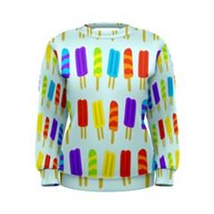 Food Pattern Women s Sweatshirt