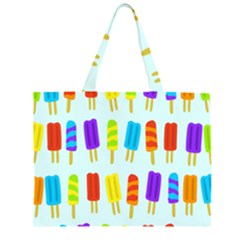 Food Pattern Large Tote Bag