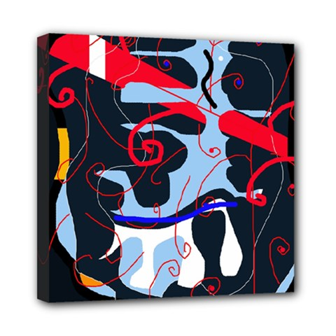 Abstraction Mini Canvas 8  x 8