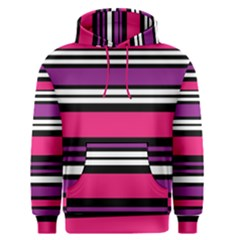 Stripes Colorful Background Men s Pullover Hoodie