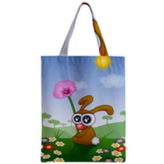 Easter Spring Flowers Happy Classic Tote Bag