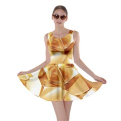 Golden Crystals Skater Dress