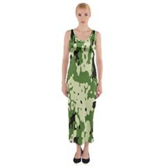 Flectar Fitted Maxi Dress