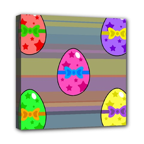 Holidays Occasions Easter Eggs Mini Canvas 8  x 8