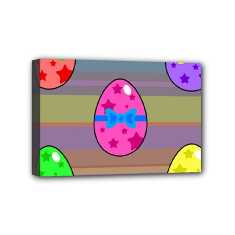 Holidays Occasions Easter Eggs Mini Canvas 6  x 4