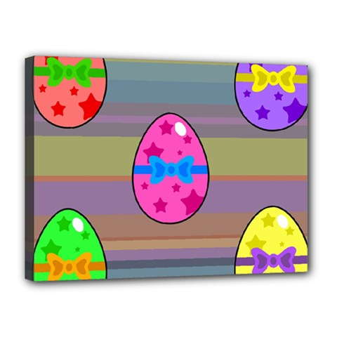 Holidays Occasions Easter Eggs Canvas 16  x 12