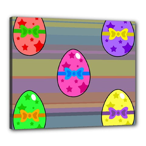 Holidays Occasions Easter Eggs Canvas 24  x 20