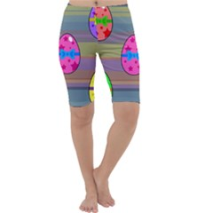 Holidays Occasions Easter Eggs Cropped Leggings