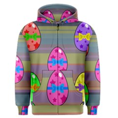 Holidays Occasions Easter Eggs Men s Zipper Hoodie