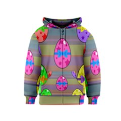 Holidays Occasions Easter Eggs Kids  Zipper Hoodie