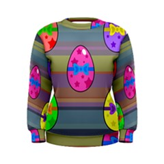 Holidays Occasions Easter Eggs Women s Sweatshirt