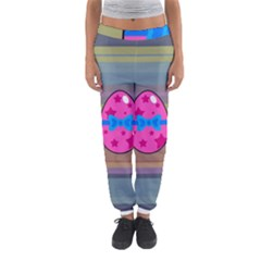 Holidays Occasions Easter Eggs Women s Jogger Sweatpants