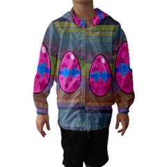 Holidays Occasions Easter Eggs Hooded Wind Breaker (Kids)