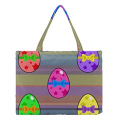 Holidays Occasions Easter Eggs Medium Tote Bag
