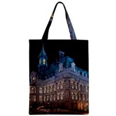 Montreal Quebec Canada Building Zipper Classic Tote Bag