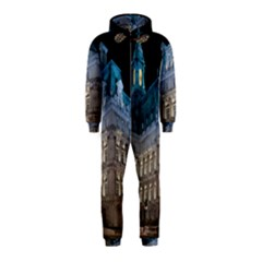 Montreal Quebec Canada Building Hooded Jumpsuit (Kids)
