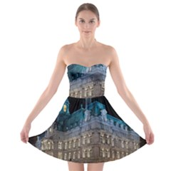 Montreal Quebec Canada Building Strapless Bra Top Dress