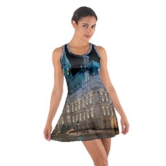 Montreal Quebec Canada Building Cotton Racerback Dress