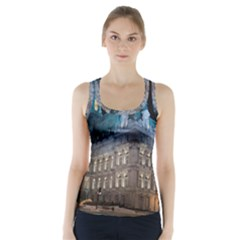 Montreal Quebec Canada Building Racer Back Sports Top