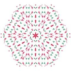 Reindeer Pattern Mini Folding Umbrellas