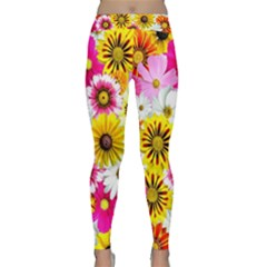 Flowers Blossom Bloom Nature Plant Classic Yoga Leggings