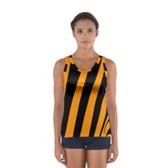 Tiger Pattern Women s Sport Tank Top
