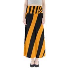 Tiger Pattern Maxi Skirts