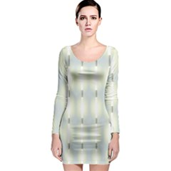 Lights Long Sleeve Bodycon Dress