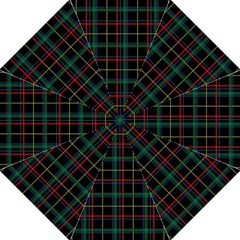 Plaid Tartan Checks Pattern Folding Umbrellas