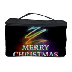 Merry Christmas Abstract Cosmetic Storage Case