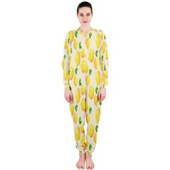 Pattern Template Lemons Yellow OnePiece Jumpsuit (Ladies)