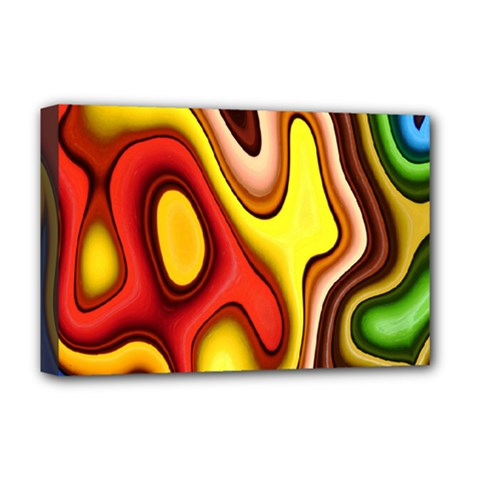 Pattern Background Structure Deluxe Canvas 18  x 12