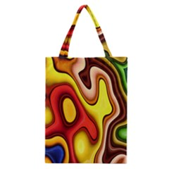Pattern Background Structure Classic Tote Bag