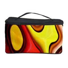 Pattern Background Structure Cosmetic Storage Case