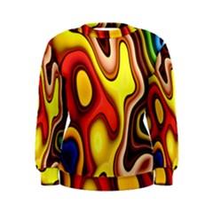 Pattern Background Structure Women s Sweatshirt