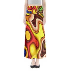 Pattern Background Structure Maxi Skirts