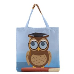 Read Owl Book Owl Glasses Read Grocery Tote Bag