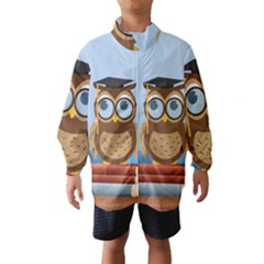Read Owl Book Owl Glasses Read Wind Breaker (kids)