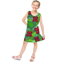 Flowers Kids  Tunic Dress