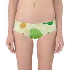 Leaves Pattern Classic Bikini Bottoms