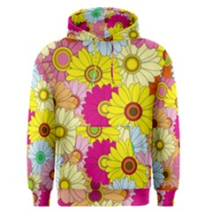 Floral Background Men s Pullover Hoodie