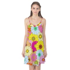 Floral Background Camis Nightgown