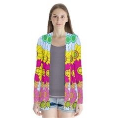 Floral Background Cardigans