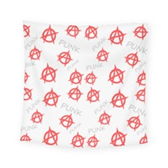 Punk Pattern Square Tapestry (small)