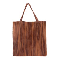 Texture Tileable Seamless Wood Grocery Tote Bag