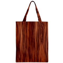Texture Tileable Seamless Wood Zipper Classic Tote Bag