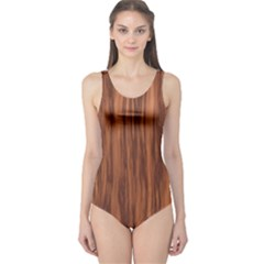 Texture Tileable Seamless Wood One Piece Swimsuit