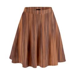 Texture Tileable Seamless Wood High Waist Skirt